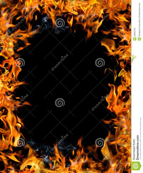 het gevaar van zwarte henna het kader het vuur royalty vrije stock foto