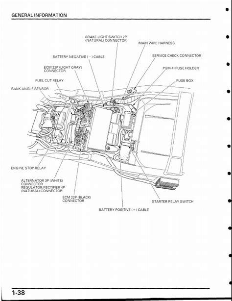 wiring diagram 2001 honda cbr929rr honda auto wiring diagram