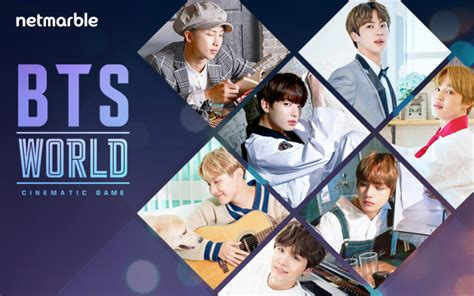 bts games netmarble to launch mobile game bts world