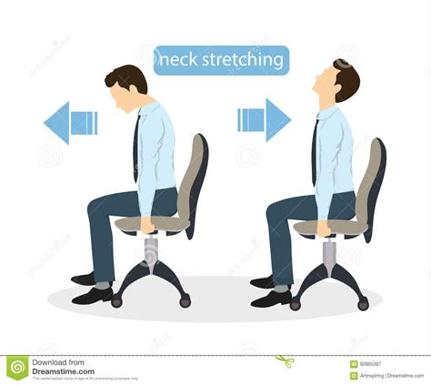 sport exercises for office stock vector illustration of businessman 92865397