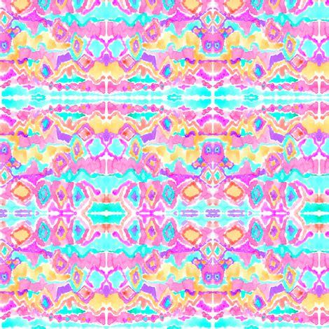 watercolor ikat pattern watercolor ikat fabric erinanne spoonflower