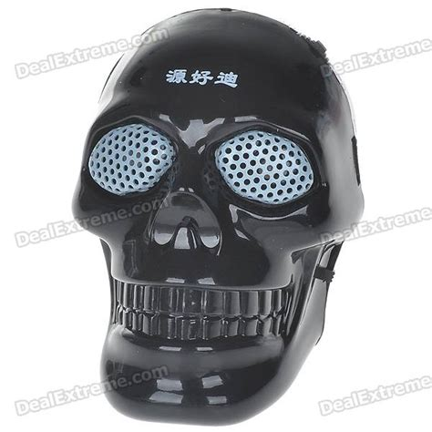 mp skull mp3 unique skull shaped portable usb rechargeable tf slot mp3