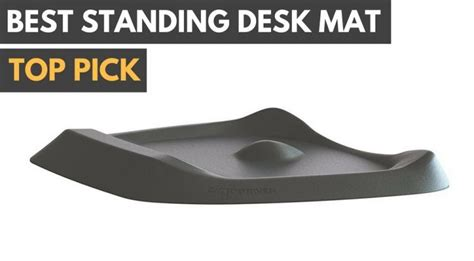 best standing desk mat