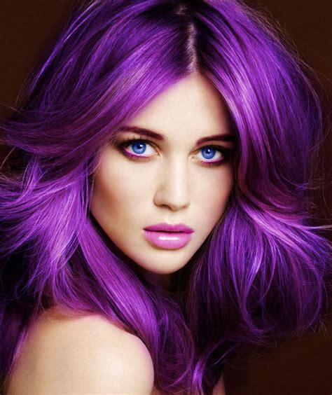 girl hairstyles purple purple is the new black garnish hair studio