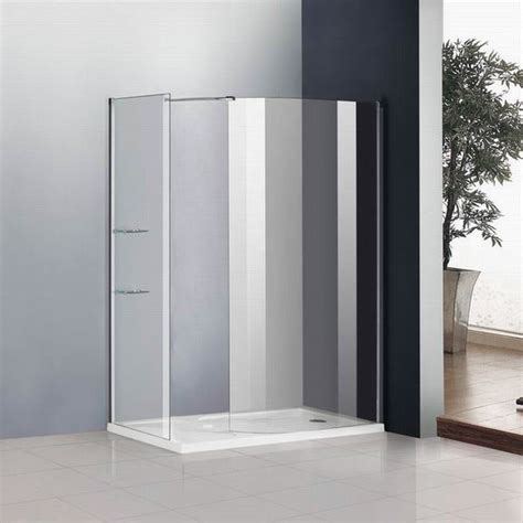 Universal Design Bathroom by Walk In Shower Enclosure Curved 6mm Glass Cubicle Screen
