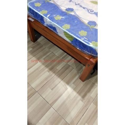 Ranjang Kayu Single ranjang kasur kayu jati