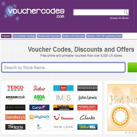 discount vouchers for uk discount vouchers todays voucher codes and discount
