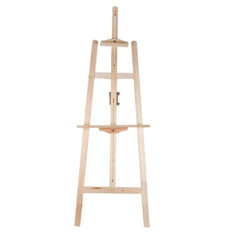 easel stand durable artist wood easel
