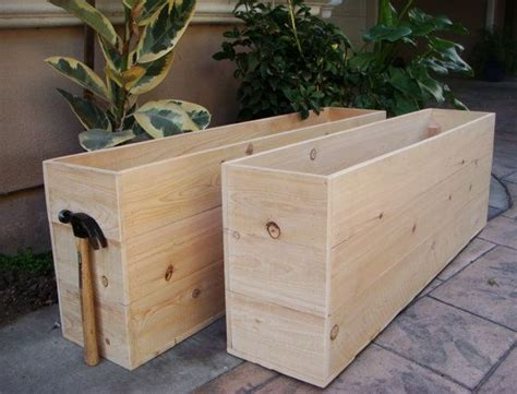 Large Planter Boxes by Best 25 Large Planter Boxes Ideas On Portable
