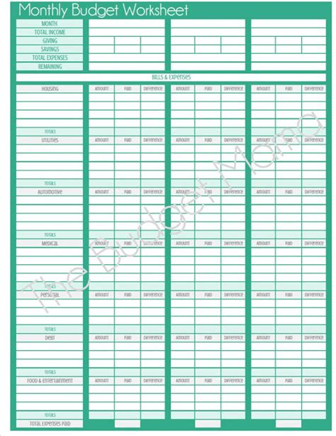 monthly budget calendar template printable budget calendar search results calendar 2015