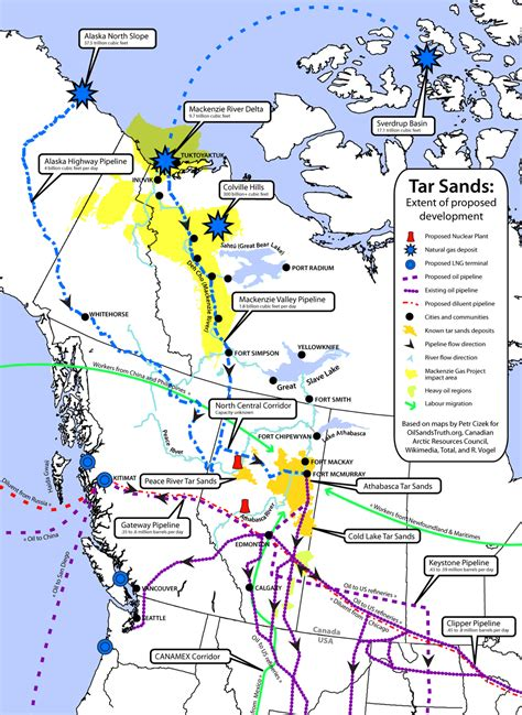 map of pipelines in alberta flows south impacts flow the dominion