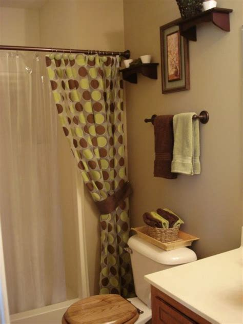 Brown And Green Curtains Designs Brown Bathroom Green And Brown And Green Bathrooms On
