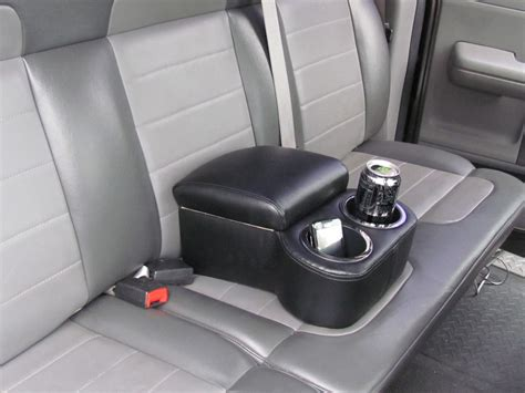truck bench seat center console car cup holder console bench seat cup holder red blue