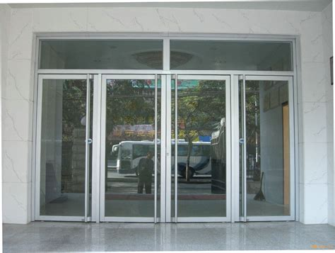 Aluminum Frame Glass Door For Store Front Ms 1121 In Doors Front Door Store