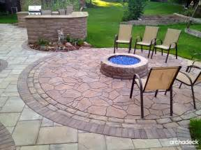 pit design ideas outdoor living with archadeck of