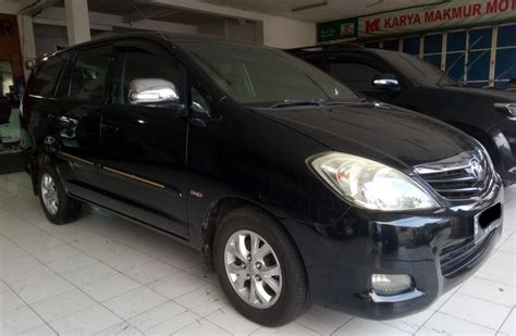 Sarung Jok Mobil Kijang Innovaportunerpajero Bahan Porche 3 toyota kijang innova g 2 5 at 2010 diesel solar