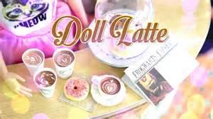 Barbie Kitchen Furniture diy how to make doll latte handmade doll crafts
