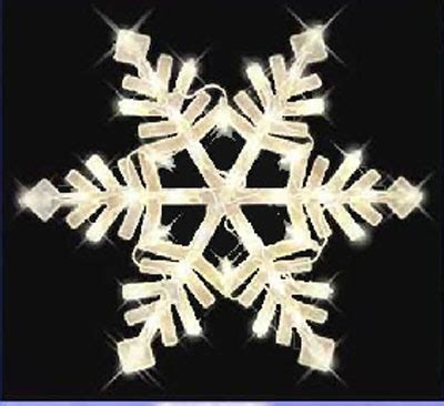 christmas snowflake window light decor indoor outdoor ebay