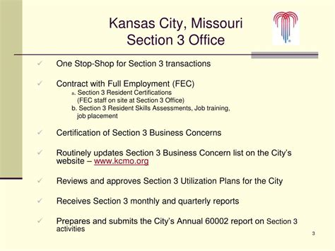 Section 3 Resident by Ppt Kansas City Missouri Powerpoint Presentation Id