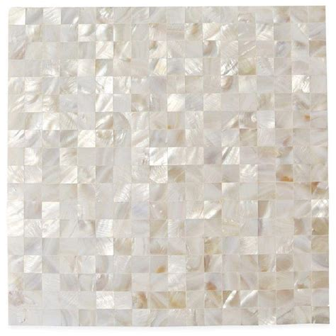 of pearl tile splashback tile of pearl serene white squares 12 in x 12 in x 2 mm seamless pearl shell
