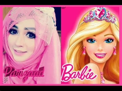 tutorial hijab barbie belle most requested hijab tutorial with party outfit pari