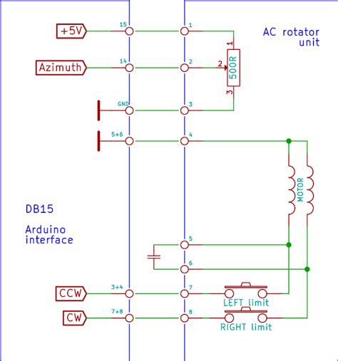 cde antenna rotator wiring diagram electrical schematic