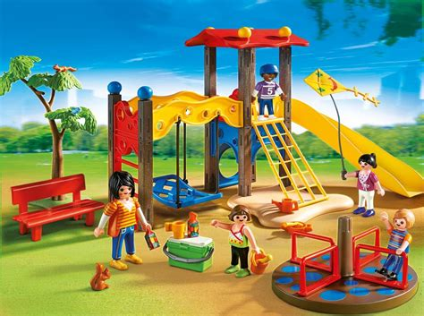 swing life style mobile com playmobil playground set toys games