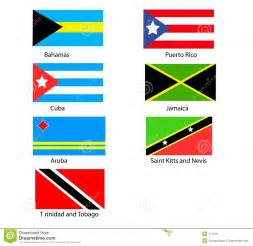 caribbean flags caribbean flags royalty free stock image image 171216