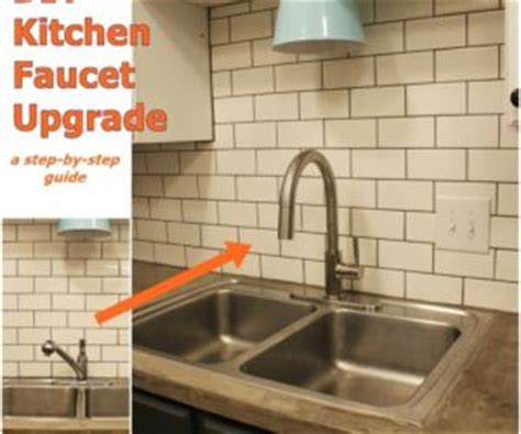how to replace a kitchen sink faucet makedecoration budget friendly kitchen makeovers ideas and instructions