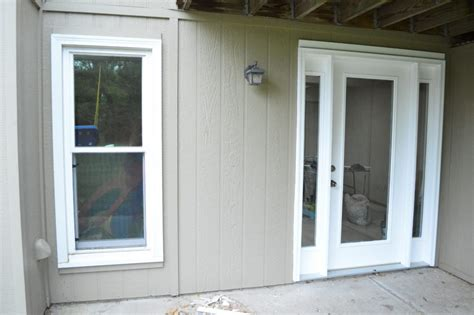 Exterior Basement Door Installation : Outside Basement
