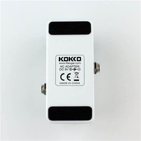 Kokko Mini Pedal Booster kokko fbs2 mini pedal booster 2 band eq electric guitar effect pedal alex nld