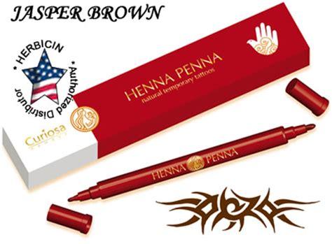 henna tattoo pen brown henna penna tattoo pen shahnaz husain herbal salon beauty
