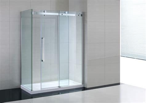 box doccia porta scorrevole box doccia con anta fissa e porta scorrevole quot amaa quot