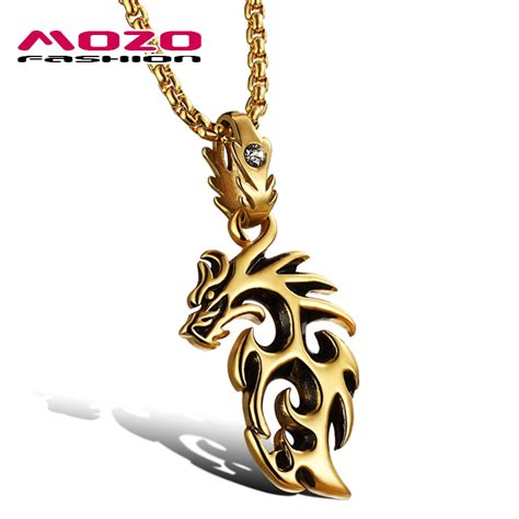 Stainless Steel Pendant Necklace stainless steel silver gold pendant necklace kwnshop