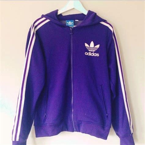 Jaket Adidas Firebirds Purple Pink purple adidas flock jacket hoodie mrpudgey depop