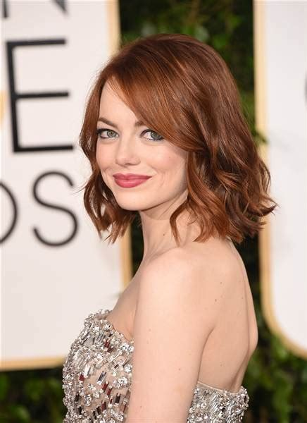 emma stone bob hot new haircuts of 2015 and how to ask your hairstylists