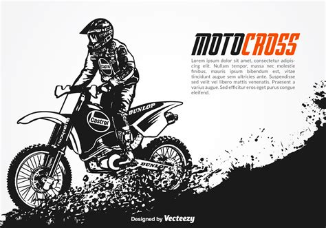 online motocross free vector motocross background download free vector