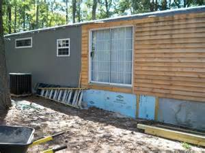 mobile home siding 1000 ideas about mobile home skirting on