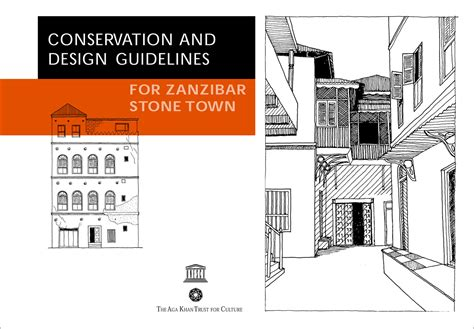 design guidelines c zanzibar conservation and design guidelines on behance