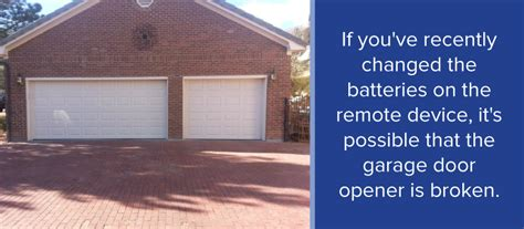 garage door won t open with remote common garage door opener problems when to repair