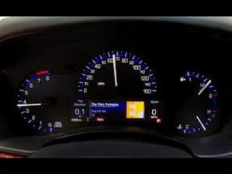 How To Reset Oil Life Light Cadillac Ats Youtube
