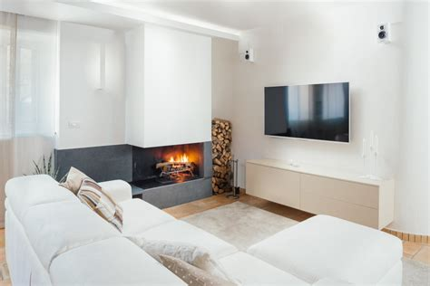 soggiorno moderno con camino zona tv con camino soggiorno in stile in stile moderno
