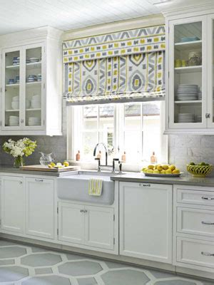 Modern Kitchen Window Treatments by Designing Home Current Trends In Window Treatments