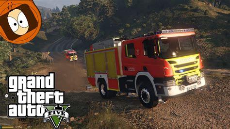 mod gta 5 en français pompier fourgon pompe tonne vs feu gta 5 rescue