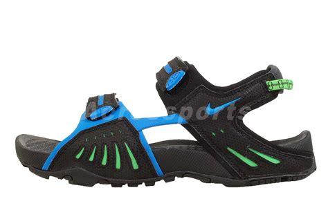 nike acg sandals nike santiam 4 iv acg black blue green mens outdoor