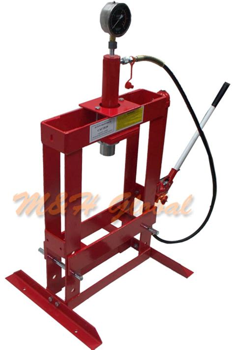 bench top press 10 ton hydraulic shop press floor bench top w pressure