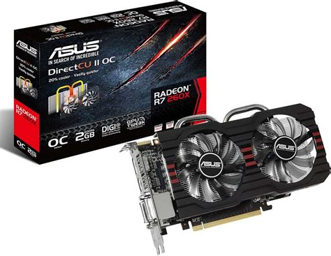 Vga R7 2gb Ddr5 asus r7 260x dc2 oc 2gb ddr5 price in el frencya egprices