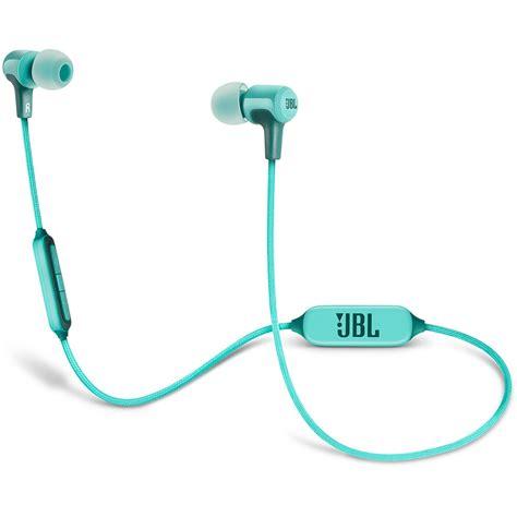 Headset Jbl E25bt jbl e25bt bluetooth in ear headphones teal jble25bttel b h