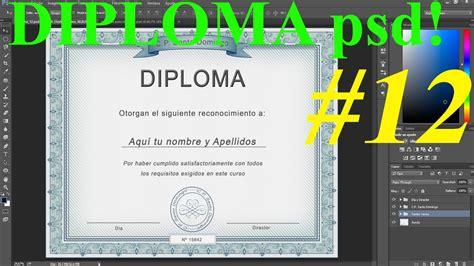 plantillas certificados gratis para photoshop wordpress plantilla psd para diploma dise 241 o de calidad profesional
