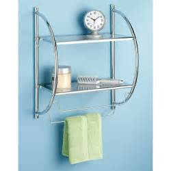 whitmor chrome shelves and towel rack walmart